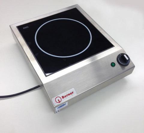 Piastra induzione Berner BM 3,5 kW - Borz Cucine