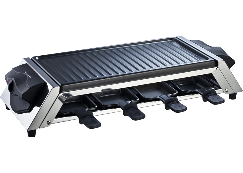 Raclette Grill Antiaderente 1200w 8p Eva - Cod 02 27 62