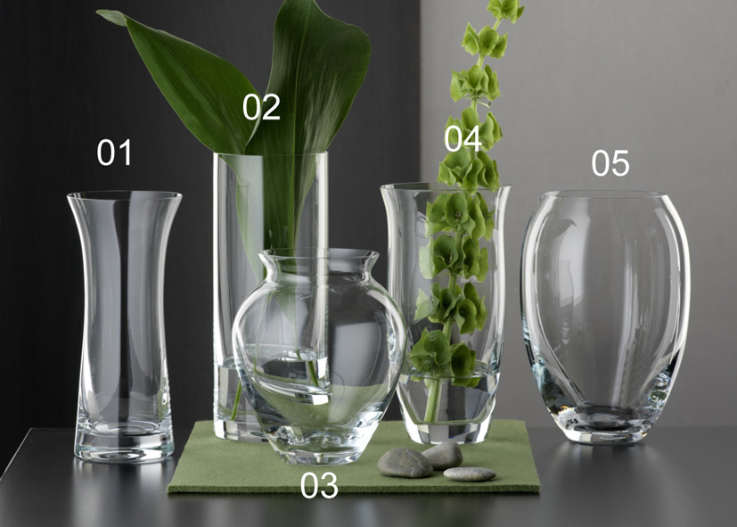 Vaso Vetro Cilindrico For Your Home 260mm - Cod 07 15 02