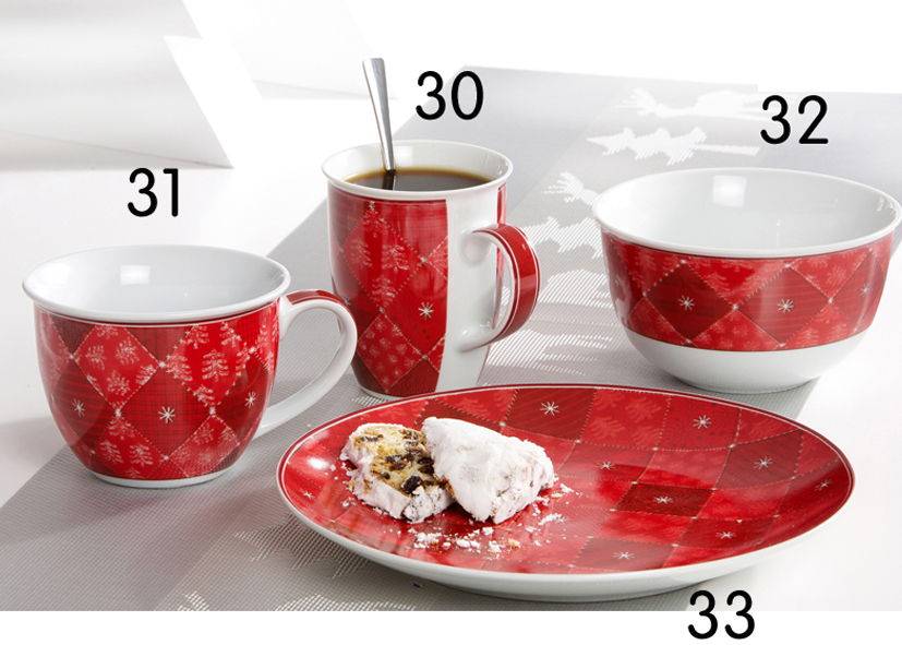 Piatto Biscotti Advent 23cm - Cod 08 13 33
